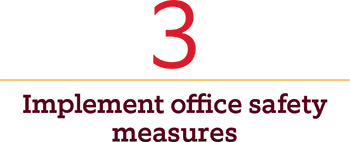 Image titled Implement office safety measures